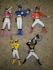 Tenso Sentai Goseiger 5 Figure Lot Bandai