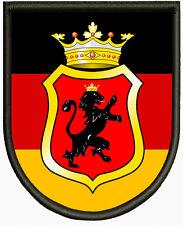 Aufnäher Pin Aufbügler. Wappen von Landeskommando Hamburg
