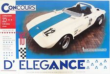 Corvette Grand Sport Poster George Wintersteen 002 of 5 GS Vette 427 Zora Duntov
