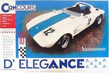 Corvette Grand Sport Poster George Wntersteen #002 of 5 GS Vette 427 Zora Duntov