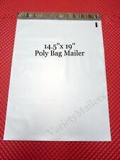 """15 Poly Bag Postal Shipping Envelopes 14.5""""x 19"""" Large Self-Sealing Mailers"""