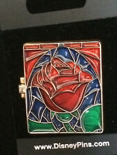 Disney Dlr - Beauty And The Beast Belle Hinged Stained Glass Pin