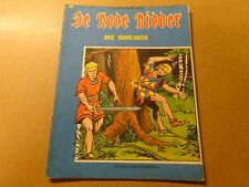 STRIP / DE RODE RIDDER 44: DRIE HUURLINGEN   Herdruk 1973