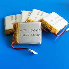 5 pcs 3.7V 500mAh LiPo Battery 503035 for MP3 GPS Headset Bluetooth Selfie Stick