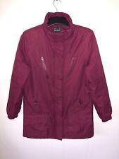 Il cappotto Rockface Donna/Giacca Taglia 12 Rosso