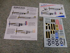 Aeromaster  decals 1/48 48-012 Pacific Mustangs     F143