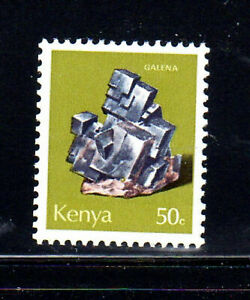 KENYA #102  1977  50c  GALENA  MINERAL     MINT  VF NH  O.G