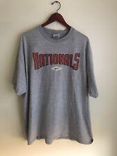 Nike MLB Washington Nationals t shirt XXL baseball world series