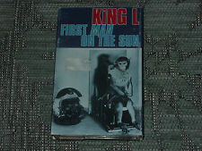 King L. – First Man On The Sun     Cassingle   NEW EX SHOP STOCK