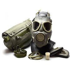 Polish Military Gas Mask Mp 4 Genuine Respiratory Chemical Grey Olive Od New