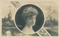 Gilberte Sergy Reutlinger Real Photo Postcard - French Actress - udb - 1904