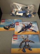 LEGO Creator 3 in 1 Set# 31008 - Thunder Wings Plane / Robot / Car