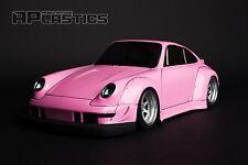 RC Body Car Drift Touring 1:10 Porsche 911 993 RWB style APlastics New Shell