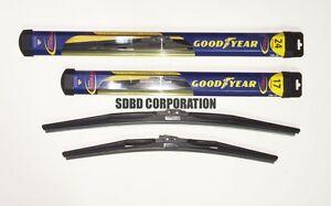 2010-2014 Chevrolet Equinox Goodyear Hybrid Style Wiper Blade Set of 2