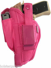 Pink Gun Holster w Mag Pouch fits Taurus Millennium G2 Pro-Tech OWB WSB-3P