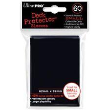 Yugioh Ultra Pro 60ct Black Card Sleeves (Deck Protectors)