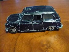 Dinky Toys Austin Taxi- Black with Gray Interior