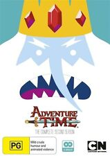 Adventure Time - The Complete Second Season NEW R4 DVD