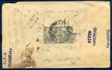 1923 cover from Kuala Lumpur to Southern India (2018/05/18/#08)