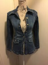 GORGEOUS AUTHENTIC WISH DESIGNER WOMENS DENIM JACKET SIZE 8