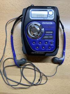Vintage Aiwa Cross X Trainer Sport HS-SP570 AM/FM Stereo Cassette Player