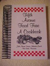 Fifth Avenue Food Fare A Cookbook, 5th Ave United Methodist Church West Bend, WI