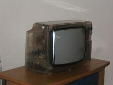 Loewe me16 TRASPARENTE PLEXIGLAS tubes TELEVISORE TV 70s 80s VINTAGE