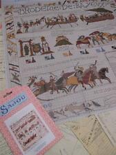Sajou Museum & Heritage cross stitch chart-el tapiz de Bayeux