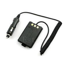 Car 12V Charger Battery Adapter Eliminator For BAOFENG UV5R Plus UV5RB UV5RC A52