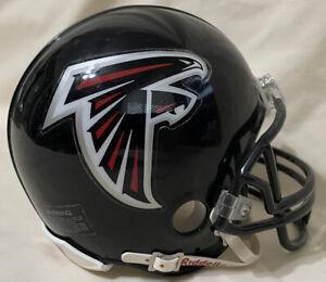 Atlanta Falcons Riddell Mini Football Helmet - Black NFL - Pre-Owned