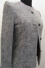 EUC VTG Charles Cooper Design 4BTN Blazer Designer Suit MOD Dress Size 8/10 A2