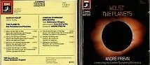 Holst The Planets Andre Previn LSO EMI Made in Japan Cd