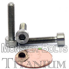 4mm x 0.70 x 20mm - TITANIUM SOCKET HEAD CAP Screw - DIN 912 Grade 5 Ti M4 Hex
