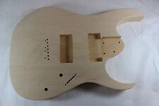 Basswood Guitar body fits EMG707, Ibanez (tm) 7 string RG and UV Necks P224