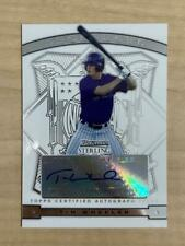 TIM WHEELER COLORADO ROCKIES SIGNED 2009 BOWMAN STERLING CARD #BSP-TW W/COA