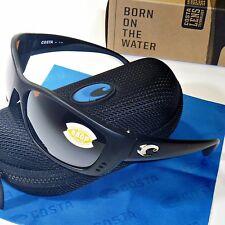 Costa Del Mar Fisch Polarized Sunglasses - Black Frame/Silver Mirror 580P  FS 11