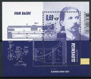 Slovenia Invention Stamps 2021 MNH Ivan Bajde - First Slovene Inventors 1v M/S