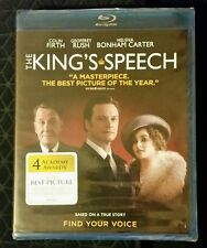 The King's Speech (Blu-ray, 2011) *NEW SEALED* SHIPS FAST Mon-Sat!