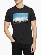 Calvin Klein Jeans Men's Empire State Graphic T-Shirt Black XL $39