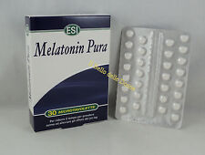 ESI MELATONIN PURA 1mg 30 tavolette relax insonnia melatonina tabletas insomnio
