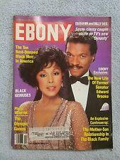 Ebony Magazine October 1984 Diahann Carroll and Billy Dee Williams