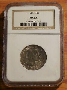 1979 - SBA Susan B Anthony Dollar * NGC MS 65