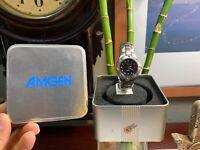 FOSSIL Amgen Ladies Women's Watch Brand NEW +Tags+Case PRISTINE Rare 100 Meter