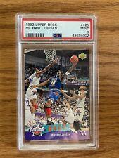 1992 Upper Deck Michael Jordan #425 All-Star Weekend PSA 9