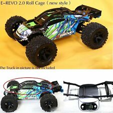Car Roll Cage Frame Wheelie Bar Waterproof for 1/10 Traxxas E-REVO 2.0 86086-4