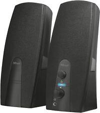 Audiocore AC860 Haut-Parleurs Stéréo 2.0 PC avec USB - Noir
