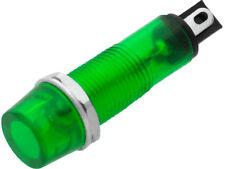 Glimmlampe Grün 230V Signallampe Kontroll-Lampe Signlalleuchte 9mm (grün) 230V