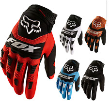 Full Finger Glove Racing Motorcycle Gloves Cycling Bicycle MTB Bike Riding Mens