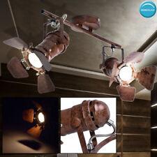 Rétro lampe de plafond spots rouge salon chambre d'éclairage spots réglables
