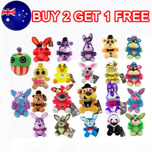 Five Nights at Freddy's FNAF Horror Game Kid Plushie Toy Plush Dolls Gift Top
